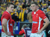 Jonathan Davies and Rhys Priestland ponder another game where victory slipped from Wales' grasp.