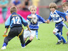Kenfig Hill U8s took on Bridgend Sports in a tag competition.