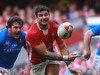 Mike Phillips passes the ball out to his backline against Italy during his side's 24-3 victory.