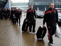 Wales arrive in Gdansk