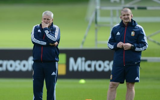 Warren Gatland and Graham Rowntree