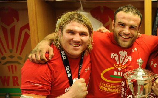 Richard Hibbard and Jamie Roberts