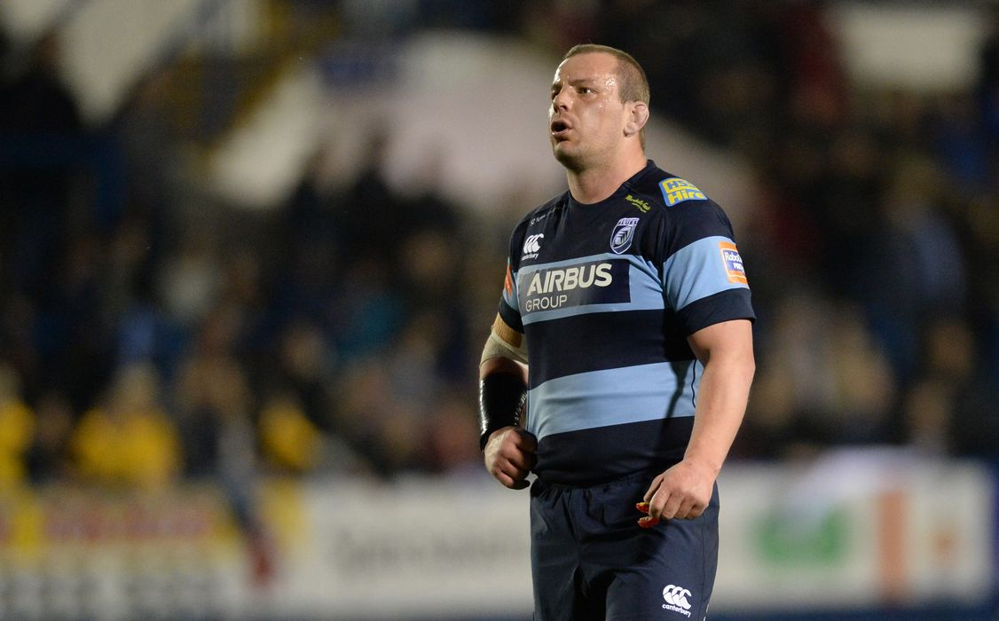 Matthew Rees Cardiff Blues Judgement Day