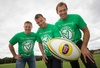 Internationals join ranks for cancer charity