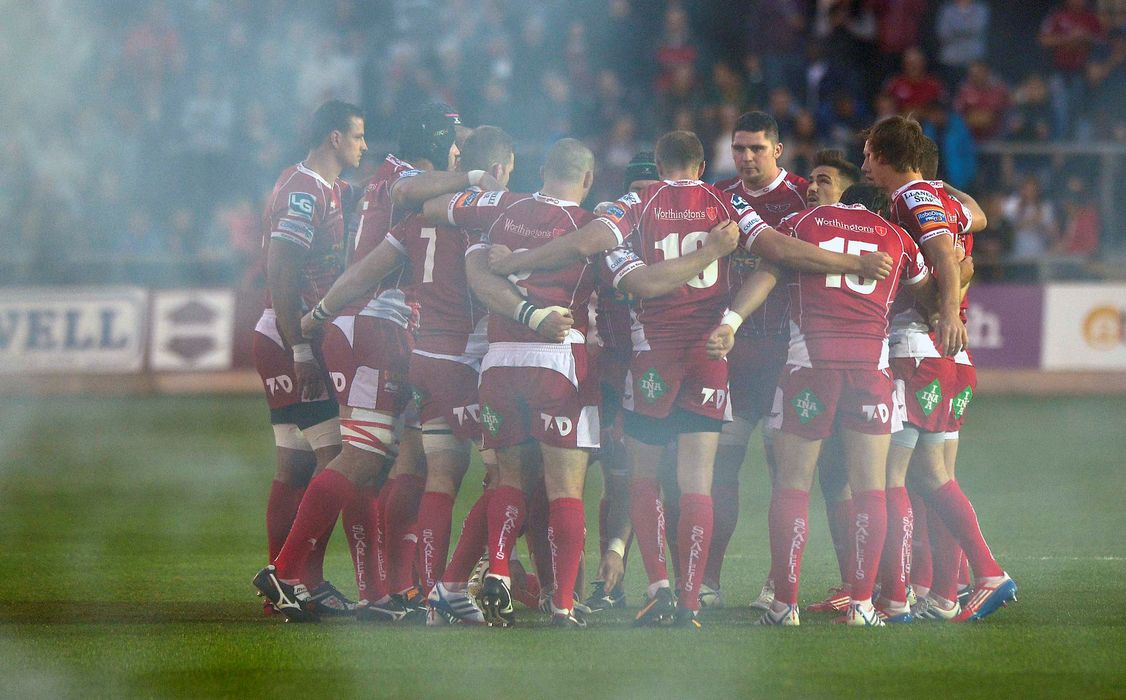 Rob McCusker and the Scarlets
