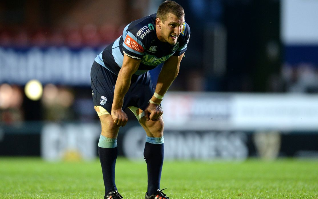 Sam Warburton Cardiff Blues
