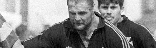 Brian Williams in action for Neath