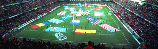 Scenes like those from Rugby World Cup 1999 could be seen at the Millennium Stadium again in 2007 as part of a participation agreement if France are successful in their bid to host the tournament