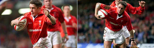 Shane Williams celebrated his return from injury with a brace of tries against Samoa