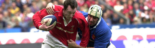 Rob Howley made sure he also blitzed the French defence for a try