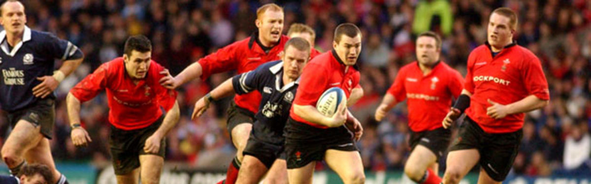 Scotland are first up for Wales on Valentine's Day