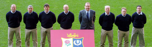 Sir Clive Woodward has unveiled his coaching team for the British & Irish Lions Tour of New Zealand who will play Argentina in Cardiff on Monday 23rd May 2005