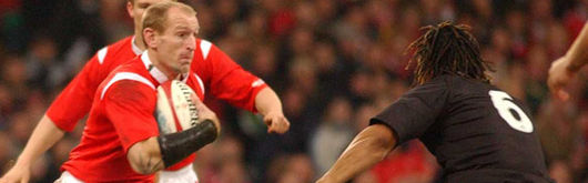 Gareth Thomas knows only too well the Test match intensity required to challenge the All Blacks after Wales ran them close last autumn