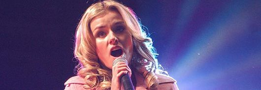 Wales's new singing sensation Kathryn Jenkins