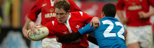 Shane Williams has been a catalyst for a lot of Wales's running play