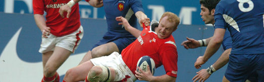 Martyn Williams led the second half fight back in Paris that has kept the clean sweep going