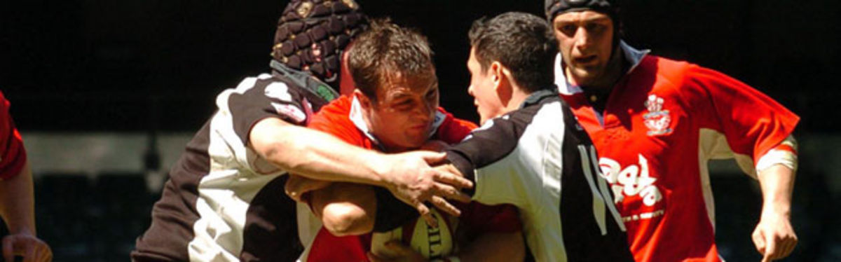 The 2005 Konica Minolta Cup Final will be repeated this weekend with Kevin George looking to repeat the final outcome and defeat Pontypridd