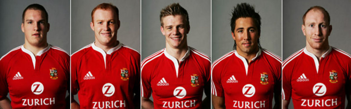 Gethin Jenkins, Martyn Williams, Dwayne Peel, Gavin Henson and Tom Shanklin will roar into Lions action on Kiwi soil this weekend