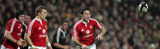 Together Again: Peel and Jones reunite their Wales Grand Slam pairing for the first test against the All Blacks