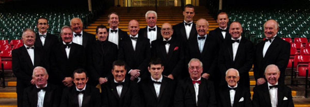 Wales Captains past and present gather to celebrate 125 years of the Welsh Rugby Union