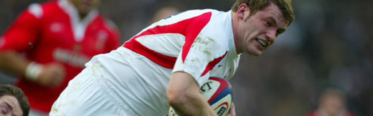Mark Cueto (pictured in action at Twickenham last season) is in for Josh Lewsey this Saturday