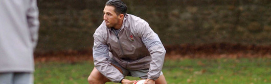 Gavin Henson trains with Wales for the first time since the 2005 Grand Slam