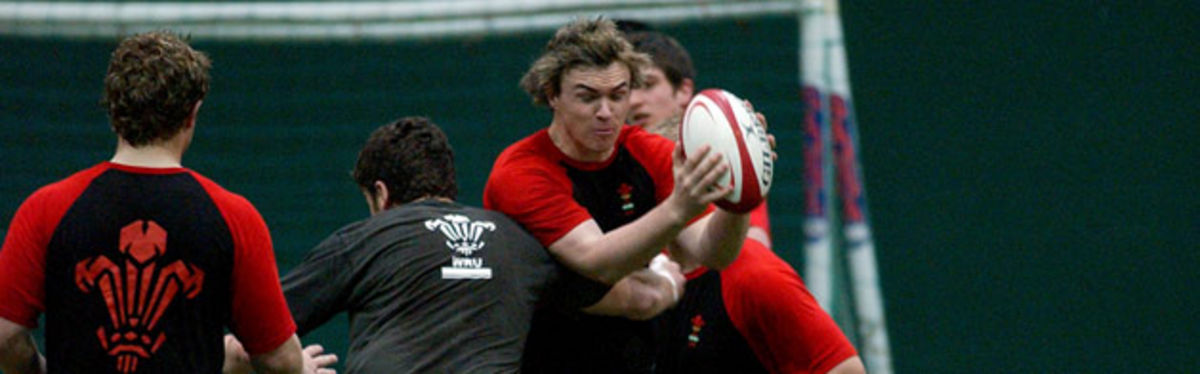 Wales U18 prepare to tackle their Irish counterparts later today