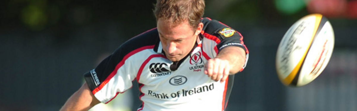 David Humphreys in Magners League action for Ulster against the Dragons at the beginning of the season