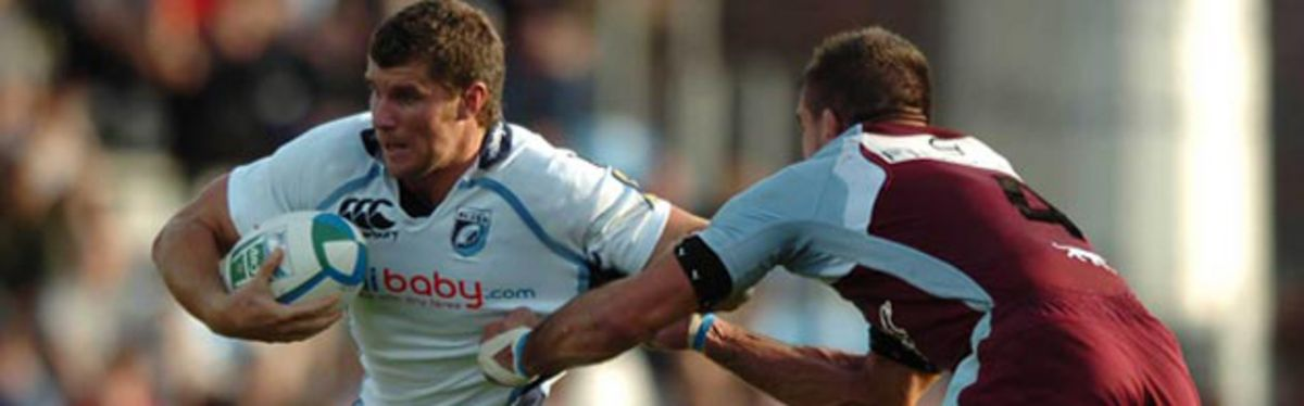 Centre Mark Stcherbina has signed for Newport Gwent Dragons on a one-year deal