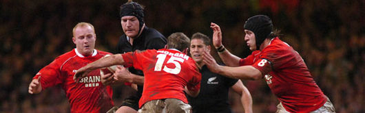 Richie McCaw led an All Blacks side that stifled and counter attacked any Welsh attack to heap yet more misery on the Wales v New Zealand record books