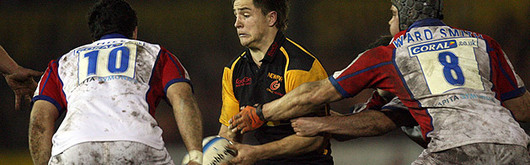 Alex Walker in action for the Dragons for Paul Turner believes have come of age as a team in the 2006-2007 competition