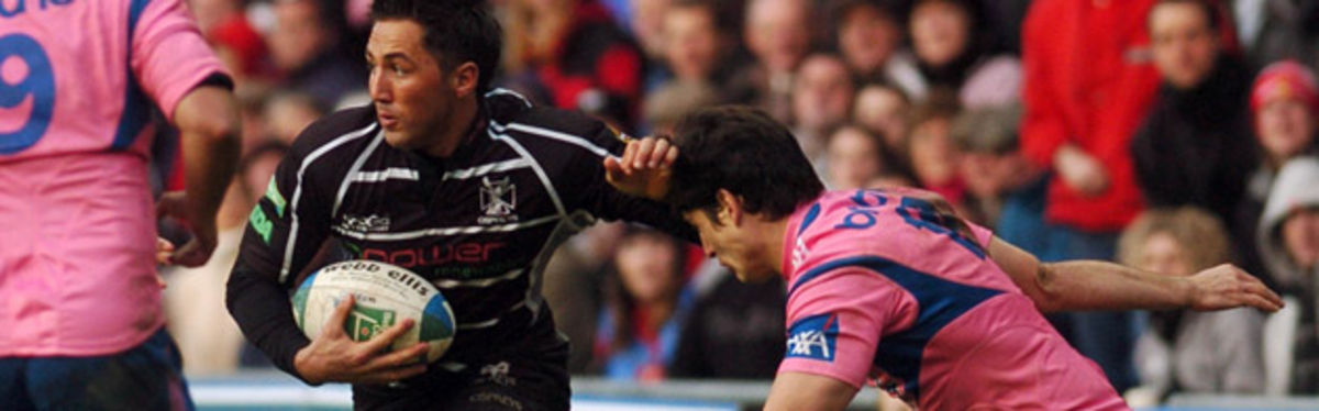 Gavin Henson against Stade Francais last weekend