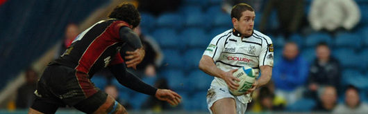 Shane Williams, in Heineken Cup action against Sale Sharks in January, believes the Ospreys can overpower the Tigers at Twickenham on Sunday