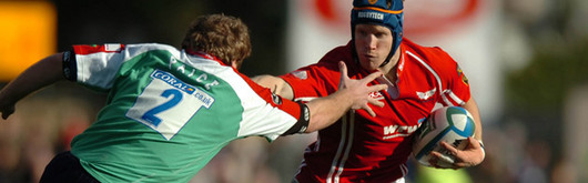 Llanelli Scarlets skipper Simon Easterby keeps the captain's armband for 2008–2009 season