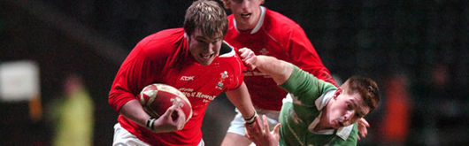 Hugh Gustafson (pictured against Ireland U20) scored but failed to lead his Wales U20 to victory