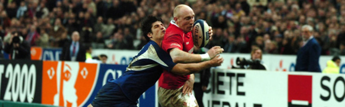 Wales centre Tom Shanklin is tackled by David Skrela in February's RBS Six Nations defeat to France