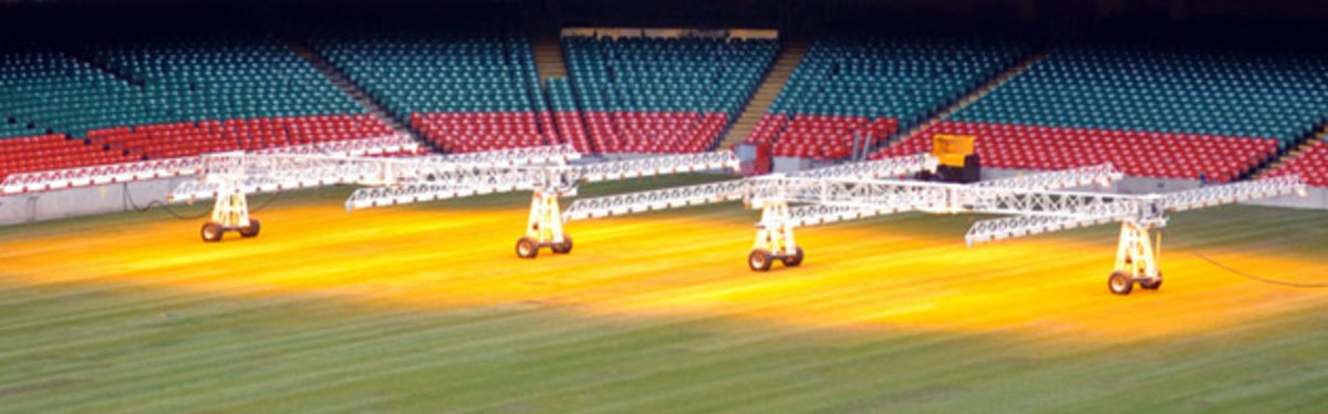Millennium Stadium's new lamp system has brought improved quality to the nature of the playing surface
