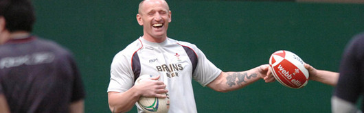 After a four week suspension, Gareth Thomas makes the bench
