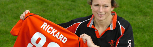 Louise Rickard is ready to celebrate 93 caps