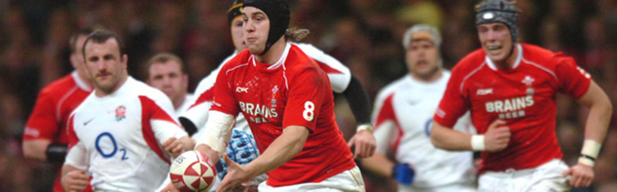 Ryan Jones leads a Welsh charge against England in last season's RBS Six Nations campaign
