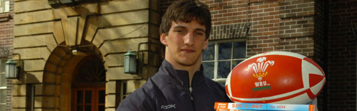 Sam Warburton was unveiled at Whitchurch High School as the Wales U19 Captain for the IRB U19 World Championships