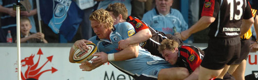 Mike Blair is weary of the threat posed by Cardiff Blues as Edinburgh travel to the Arms Park on Friday night