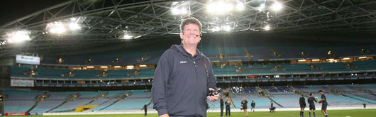 Wales Head Coach Gareth Jenkins at the Telstra Stadium