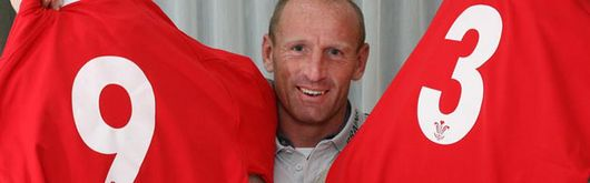 Gareth Thomas will get his 93rd cap tomorrow when Wales play Australia and contest the James Bevan Trophy