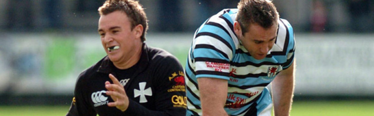 Neath in Principality Premiership action against the Wanderers earlier this season
