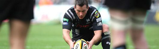 Shaun Connor was on fine form for the Ospreys with four penalties, two drop goals and two conversions
