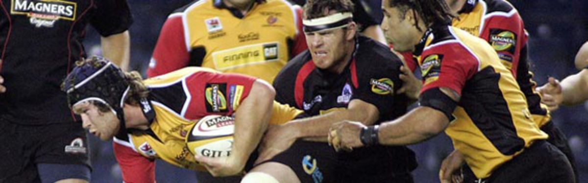 Newport Gwent Dragons forward Andy Hall is set to make his 100th Celtic League appearance