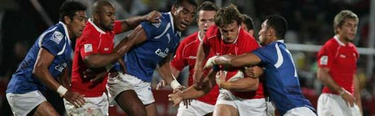Wales Sevens are preparing for a Samoan opener in the 2008 Adelaide Sevens