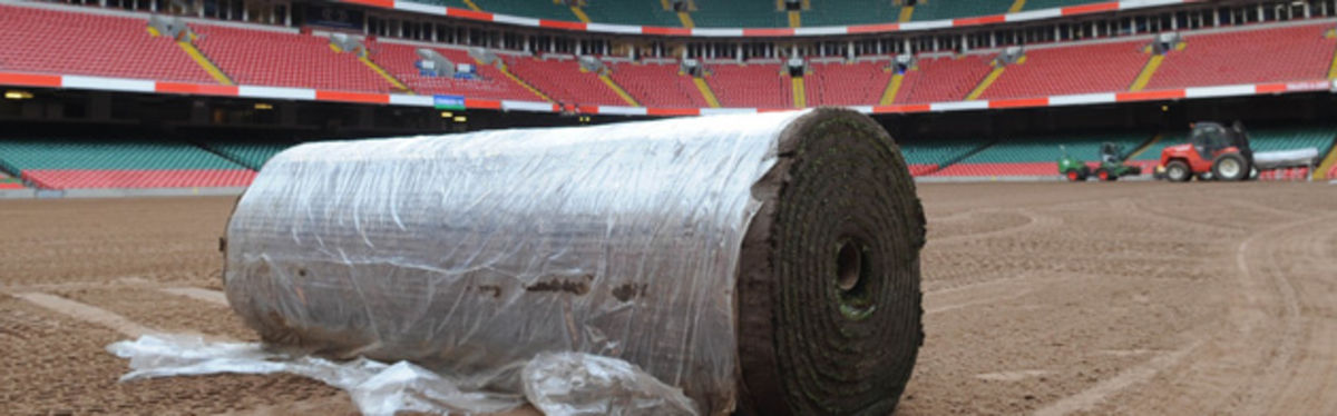 The Millennium Stadium is installing the biggest turfing system in the world in time for the 2008 RBS Six Nations