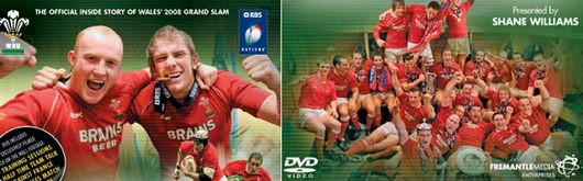 Images from the front cover of the 7 Days to Grand Slam Glory! DVD